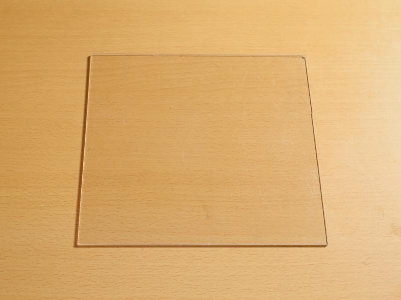 スリムタイプ棚板透明