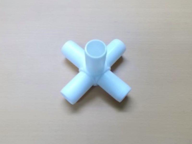 ジョイント (5方)白  JST-5XW